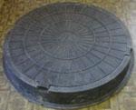 Люк средний Тип С (В 125) - полимерпесчаные люки